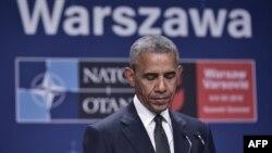 Полша -- Обама Барак, НАТО-н саммит, Варшава, Товб.8, 2016.