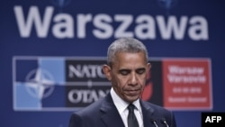 АКШ президенти Барак Обама Варшавада