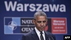 Prezident Barack Obama Varşava sammitində