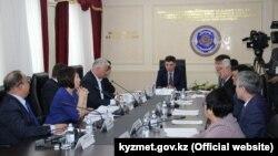 Жемқорлыққа қарсы ұлттық бюро жиыны. Астана, 18 қаңтар 2019 жыл.