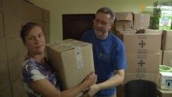 Переселенці з Донбасу отримують допомогу від уряду Німеччини та Польщі (відео)
