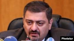 Armenian Finance Minister Vache Gabrielian