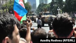 Bakıda hərbi parad, 26 iyun 2018