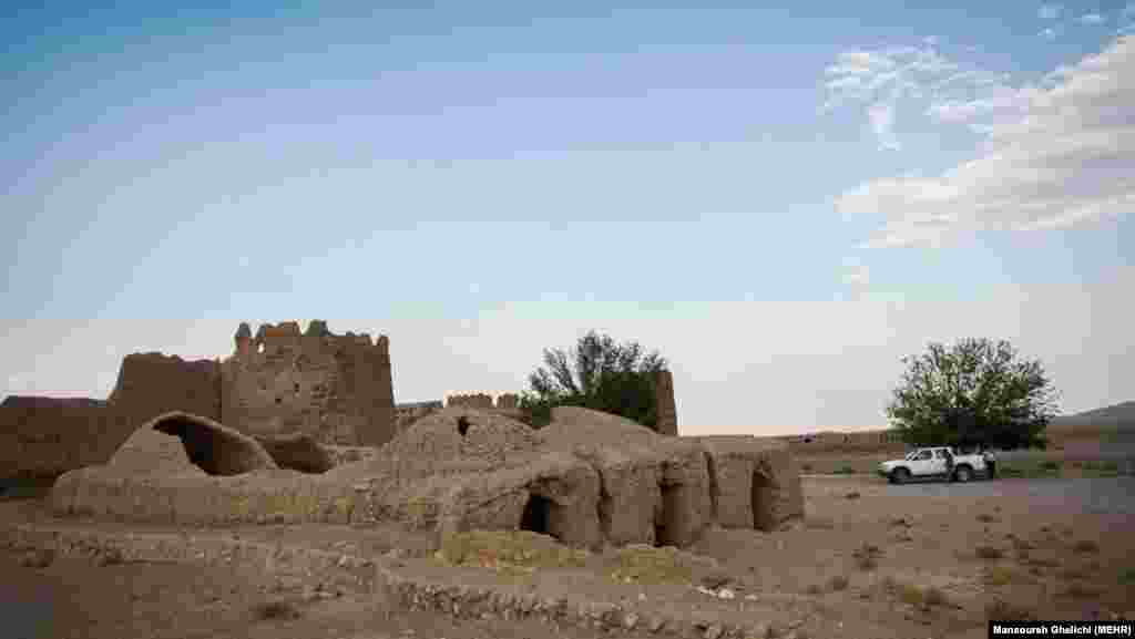 An abandoned village near the city of Yazd, Iran
