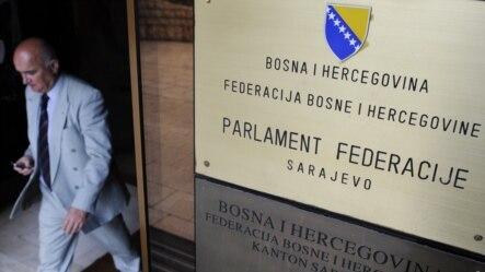 Ulaz u zgradu Parlamenta Federacije BiH