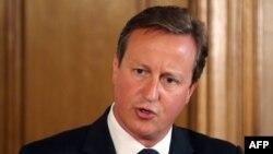 Kryeministri i Britanisë, David Cameron.