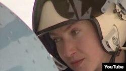 Украинский пилот Надежда Савченко