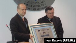 Predrag Praštalo i Vinko Puljić