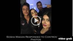 Sosha Makani bu fotolara görə Evin həbsxanasına salınmışdı