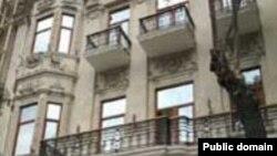 Здание Cоюза писателей Азербайджана