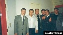 Первый слева – Гуськов, третий – Ключевский. Фото предоставлено следствием