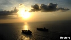 About 20 percent of the world's oil supply passes through the Strait of Hormuz.