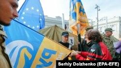 Proteste ucrainene împotriva corupției