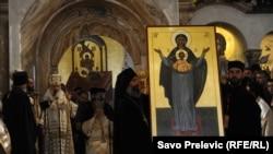 Služenje liturgije, Podgorica
