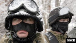 Російські спецназівці на навчаннях. 2005 рік