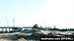Ашхабад: подвижные пески