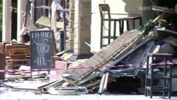 Відео з місця вбивства ватажка угруповання «ДНР» Захарченка