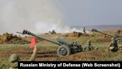 Военные учения Новороссийского десантно-штурмового горного соединения на полигоне Опук, март 2020 года