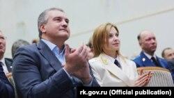 Сергій Аксьонов і Наталія Поклонська, архівне фото
