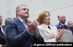 Сергій Аксенов і Наталя Поклонська, 2016 рік
