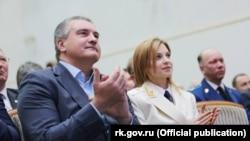 Сергій Аксьонов і Наталія Поклонська