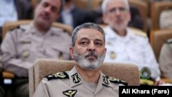 The maneuvers in Iran's Western Azerbaijan Province are being overseen by Iran's army chief, Major General Abdolrahim Musavi. (file photo)