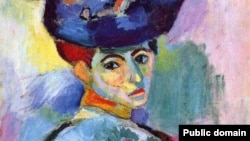 Henri Matisse. Şlyapalı qadın, 1905