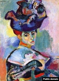 "Анри Матисс. ""Женщина в шляпе"""