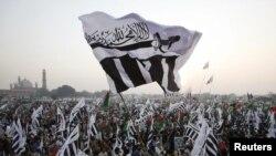 د پاکستان په لاهور کې د امریکا او هند ضد د جماعت الدعوه د ملاتړو یو لاریون. ۱۸م ډسمبر ۲۰۱۱