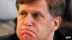 U.S. Ambassador to Russia Michael McFaul (file photo)