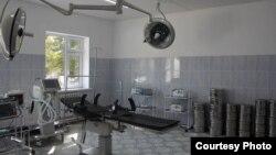 Ожоговое отделение в Джалал-Абадской областной больнице.