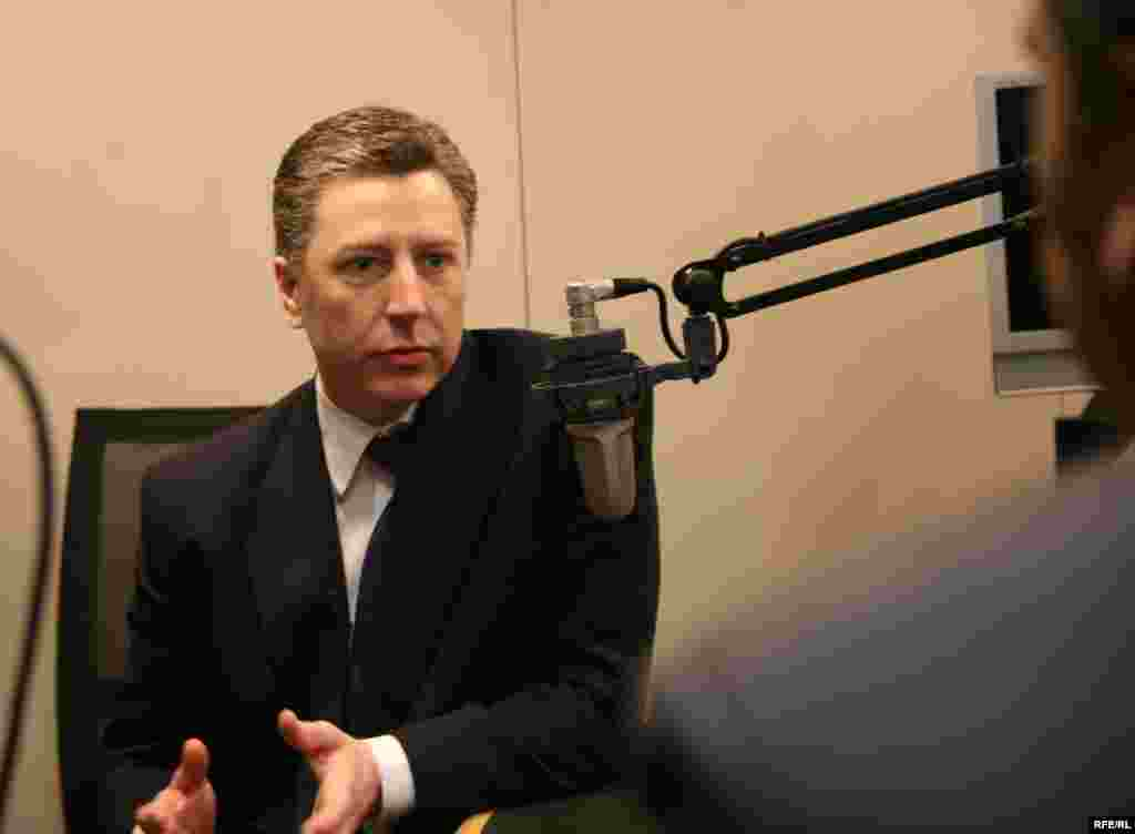 Volker in his interview with RFE/RL correspondant Abubakar Siddique.