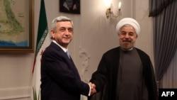 Հայաստանի և Իրանի նախագահների հանդիպումը Թեհրանում, 5-ը օգոստոսի, 2013թ.