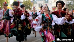 Rusiya– Kuban Kazaklarının ansamblı