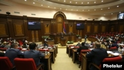 Armenia - A session of the National Assembly, Yerevan,April 13, 2021