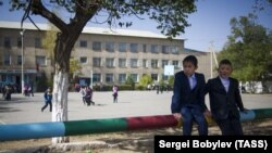 Школа в Нарыне. Иллюстративное фото.