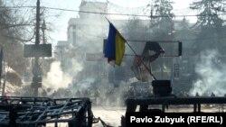 Акції протесту в Києві, січень, 2014 року