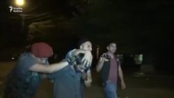 Yerevanda polis aksiyanı dağıtdı