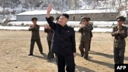 Udhëheqësi i Koresë Veriore, Kim Jong Un - arkiv