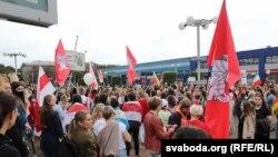 «Жіночий марш» в Мінську, 5 вересня 2020 року