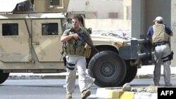 Частные наемники компании Blackwater в Багдаде.