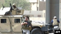 Blackwater security contractors in central Baghdad