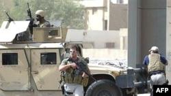 Blackwater security contractors in central Baghdad