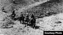 Перевал Бедель. 1916 год.