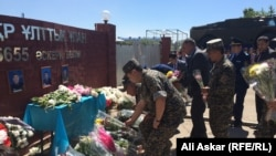 День траура по погибшим в результате теракта в Актобе