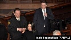 Сегодня бывший мэр Тбилиси и один из лидеров оппозиционного «Единого национального движения» впервые показался в зале суда за последние шесть месяцев