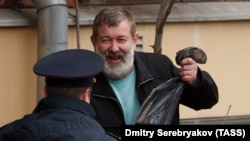 Russian nationalist activist Vyacheslav Maltsev (file photo)