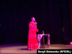 Ніна Матвієнко під час концерту у Празі, 2019 рік