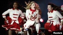 ABŞ-ly estrada ýyldyzy Madonna. 2012 ý.