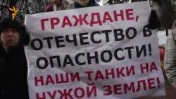 Антивоенные пикеты в Нижнем Новгороде